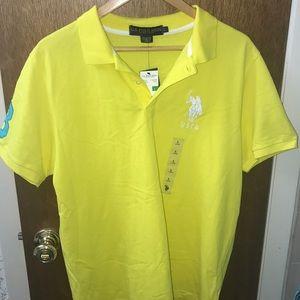 NWT men's Polo shirt Large